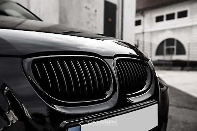 Schwarze Nieren Bmw 5er E61 Touring Frontgrill M5 Kuhlergrill