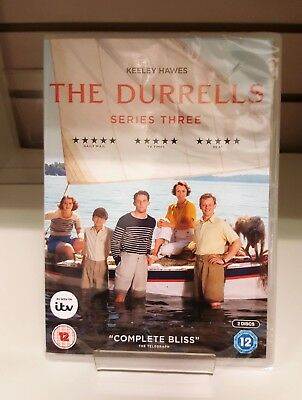 The Durrells Series 3 Season Three DVD - New and Sealed Fast and Free Delivery