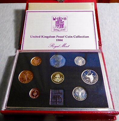 UK - 1984 Proof Coin Set