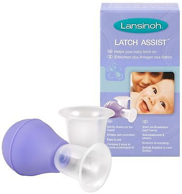 Lansinoh LATCH ASSIST NIPPLE EVERTER Baby/Child Breast Feeding Accessory BN