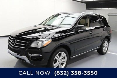 Mercedes-Benz M-Class ML 350 4MATIC Texas Direct Auto 2015 ML 350 4MATIC Used 3.5L V6 24V Automatic AWD SUV Premium