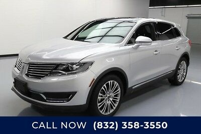 Lincoln MKX Reserve Texas Direct Auto 2017 Reserve Used 3.7L V6 24V Automatic FWD SUV Moonroof