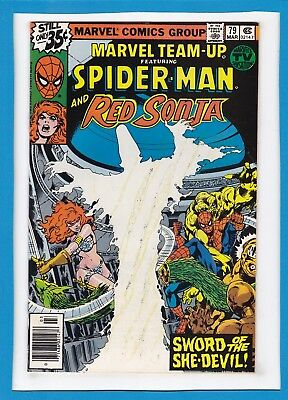 Marvel Team-Up #79_March 1979_ Very Fine Minus_Spider-Man_Red Sonja_Bronze Age!