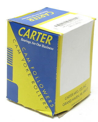 Carter CCNBE-96-SBC 3-inch Crowned, Eccentric Cam Follower Bearing, Hexed Head
