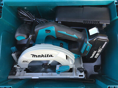 MAKITA DHS680 BRUSHLESS CIRCULAR SAW LI-ION 18v / 4.0Ah