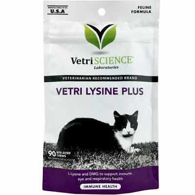 VetriScience Vetri Lysine Plus 90 BiteSized Chews