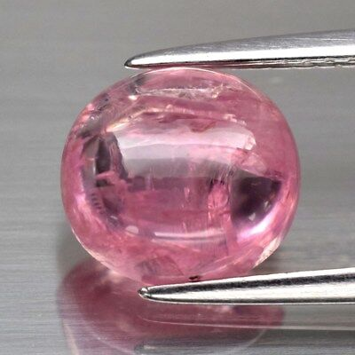3.55ct 8.8x8mm Oval Cabochon Natural Pink Spinel, M'GOK