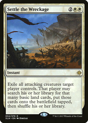 MTG X1: Settle the Wreckage, Ixalan, R, NM-Mint - FREE US SHIPPING!