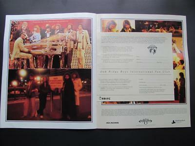 Vintage 1978 Oak Ridge Boys Souvenir Program Gospel Crossover Pop Country Music