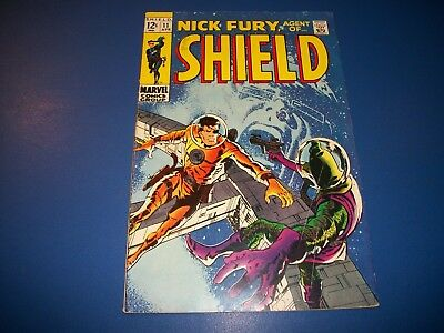 Nick Fury Agent of Shield #11 Silver Age Barry Smith