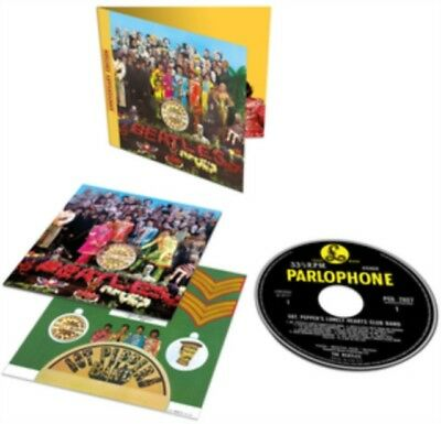 The Beatles Sgt. Pepper's Lonely Hearts Club Band 50th Anniversary CD New