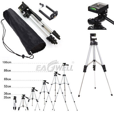 "Professional Camera Tripod Stand Holder 1/4"" Ball Head for DSLR Canon Nikon Sony"