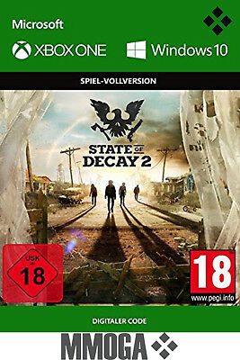 State of Decay 2 - Xbox One - Windows 10 PC Spiel - Download Game Code - DE