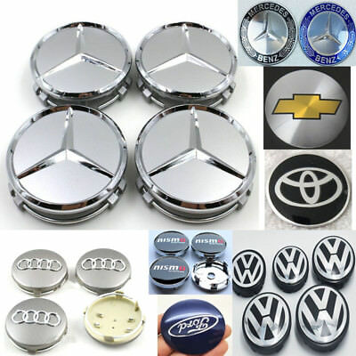4pcs All kind of 76/75/68/65/62/60/56mm Wheel Center Hub Caps Cover Badge Emblem