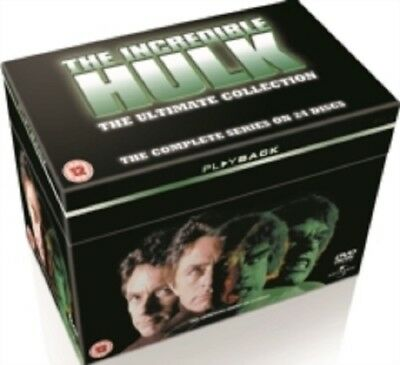 The Incredible Hulk Seasons 1 2 3 4 5 Series Season Complete Collection Reg4 DVD