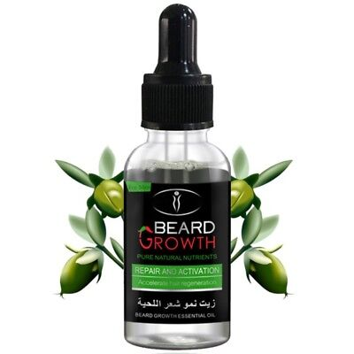 100% Natural Beard Growth Oil Balm Wax Leave-in Conditioner Beard Hair Care Oil