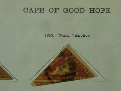 CAPE of GOOD HOPE Collection of early issues, 1853 triangles to 1903,  48 stamps