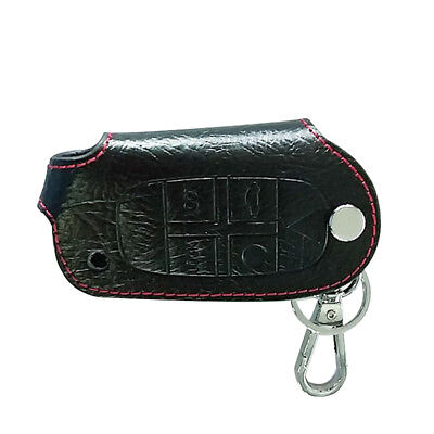 Car Leather Key Cover Case Holder for Volvo XC90