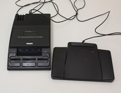 Philips 710 Transcription System - VERY GOOD CONDITION
