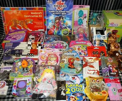 JOB LOT OF 30 VARIOUS TOYS - suitable for market trader / car booter - LOT F