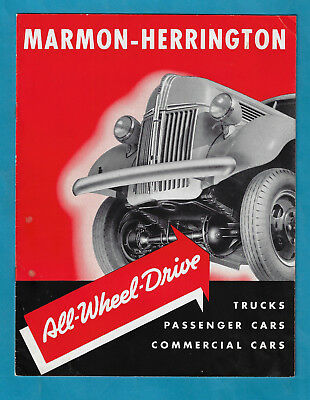 Ford Marmon-Herrington All-Wheel Drive Conversions 16 Page Sales Brochure