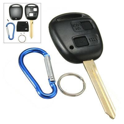 2 BUTTON Remote Key Fob Case Shell FOR Toyota Yaris Avalon Camry RAV4 Corolla