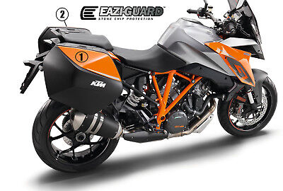 Eazi-Guard KTM 1290 Superduke GT Pannier Stone Chip Protection Kit, 2016 to 2018