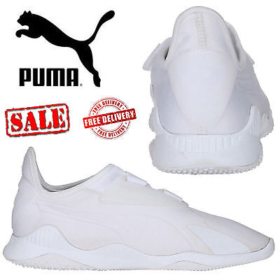 ✅ 24Hr DELIVERY✅ Puma Mostro White Mens Sports Casual Trainer Shoes rrp £65