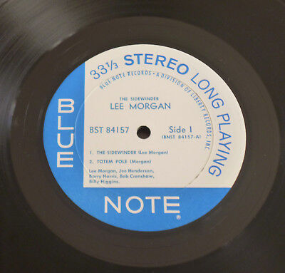 Lee Morgan - The Sidewinder (1966) LP (VG++) HOLY Blue Note Liberty 1st OIS !!