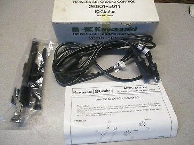 Kawasaki Nos/oem Ground Control Harness Zn 1300 Voyager Clarion Audio 26001-5011