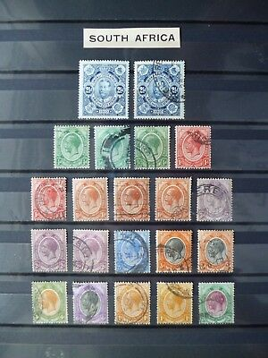 SOUTH AFRICA :- 1910 - 1925 : Mint & Used selection.