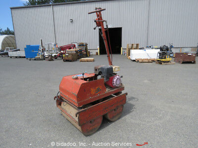 "Multiquip MDR-9DH Compaction Vibratory Walk Behind 28"" Double Drum Roller Repair"