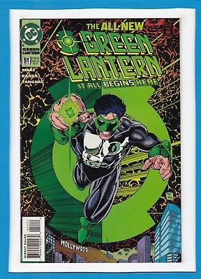"Green Lantern #51_May 1994_Nm-_""the All-New Green Lantern...it All Begins Here""!"