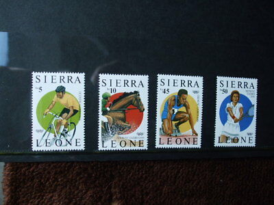 Sierra Leone Olympic Games Mint Never Hinged Stamps 1988