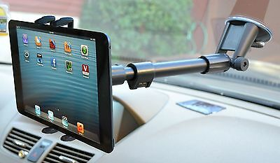 Arkon Smartphone and Midsize Tablet Windshield Mount for Apple iPad Mini 4 3 2 1