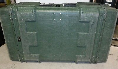 Hardigg / Pelllican Military Storage Hard Plastic Shipping Case Lid 39 x 23 x 11
