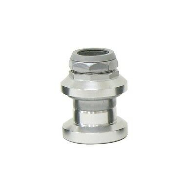 """ETC 1"""" Silver Alloy Threaded Cycle Bike Headset  (no126)"""