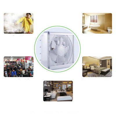 """Bathroom Wall Mounted Ventilation Fan Air Vent Exhaust Toilet Kitchen 10"""""""