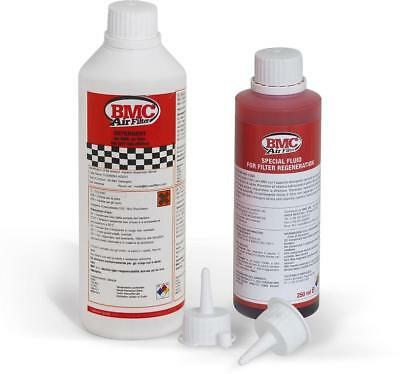 Complete Air Filter Washing Kit - Detergent & Regeneration Fluid Bottle