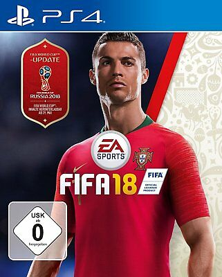 PS4 Game EA Sports Fifa 18 World Cup Edition 2018 Football DHL Blitzvesand New