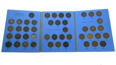 1858-1920 Canada Large Cent Collection - 45 Coins Near Complete -No 1891 Sm Date