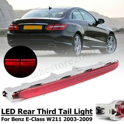 LED Rear Third Tail Light Brake Red Lamp For Mercedes Benz E-Class W211 03-09