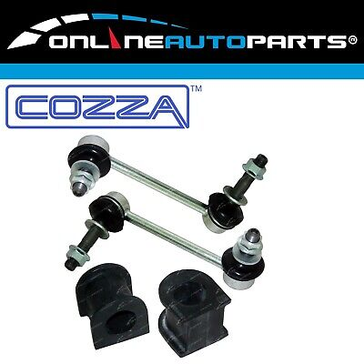 Front Sway Bar Link Rod Joint + Bush Kit suits Hilux GGN25 KUN25 KUN26 4wd 05-13