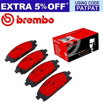 Brembo Front Disc Brake Pad Set for Pathfinder R50 1995-2005 4X4 6cyl VG33E 3.3L