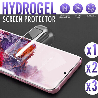 HYDROGEL AQUA Crystal Screen Protector Samsung Galaxy S10 5G S9 S8 Plus Note 9 8