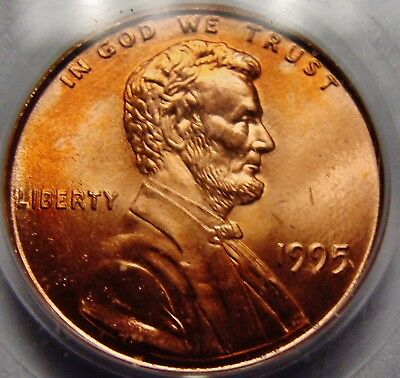 1995 P DDO Doubled Die Obverse Lincoln Cent PCGS MS67RD Superb GEM