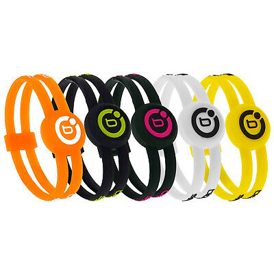 Bioflow Sport Twin Magnetic Silicone Therapy Recovery Wristband New Bracelet