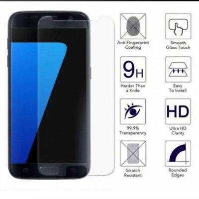 10/1PC Clear Tempered Glass Screen Protector Film for Samsung Galaxy S7 S7 EDGE