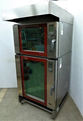 WIESHEU BACKSTATION 2x BACKOFEN B4 + B8 mit 12x BLECHE 60x40cm IS 600 BACKSHOP
