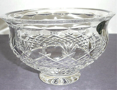Waterford Crystal Killarney Footed Bowl 6 Made In Ireland 106554